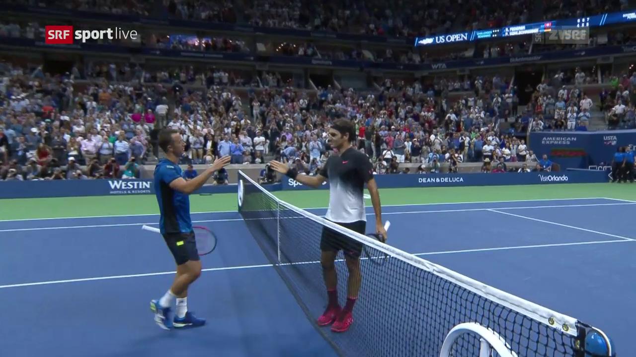 Live-Highlights Federer - Kohlschreiber