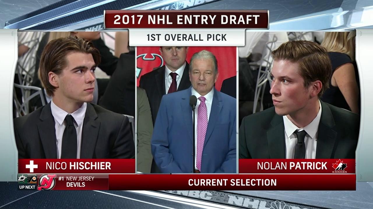 Hischier wird zum ersten Schweizer «Draft-Pick-One»