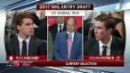Video «Hischier wird zum ersten Schweizer «Draft-Pick-One»» abspielen