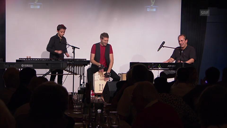 Raymond und Ruben Fein auf der Bühne
