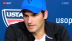 Video «Tennis: US Open, Federer - Robredo» abspielen