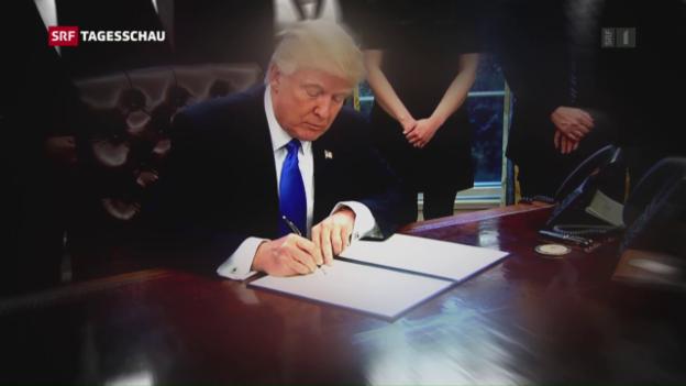 Video «Trumps Einspruch abgelehnt – juristischer Kampf geht weiter» abspielen