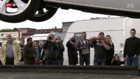 Video «Fahrende: Konflikt eskaliert » abspielen