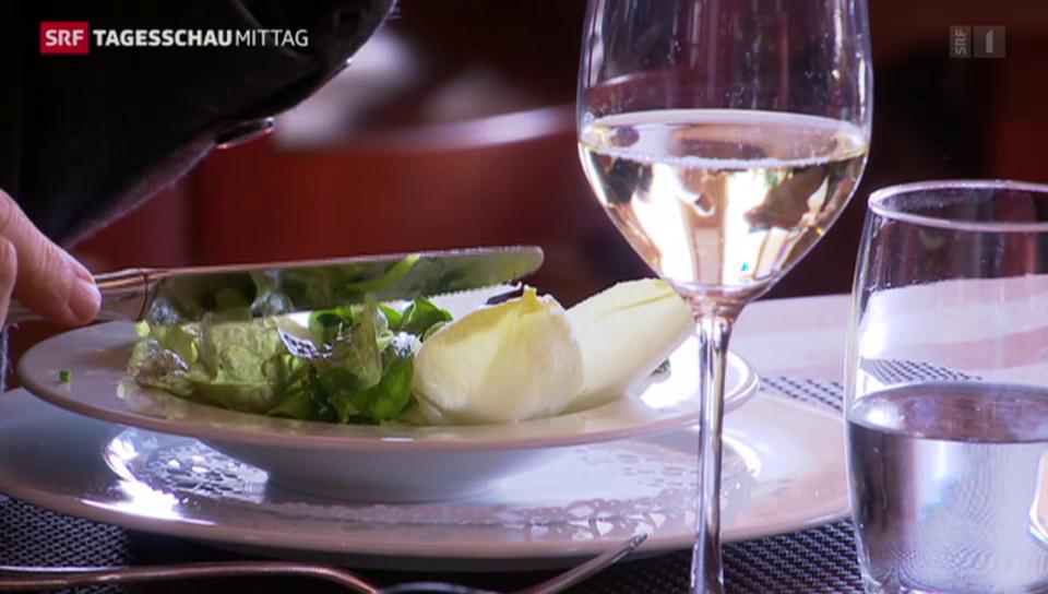 Schweizer Gastronomie leidet