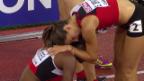 Video «Leichtathletik-EM: Siebenkampf Frauen, 800 m» abspielen