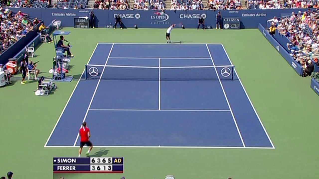 Tennis: Matchball Simon - Ferrer