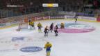 Video «Bern schlägt Davos zuhause mit 2:0» abspielen