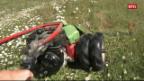 Laschar ir video «Schletta fanada – Telesguard dals 23-05-2011»
