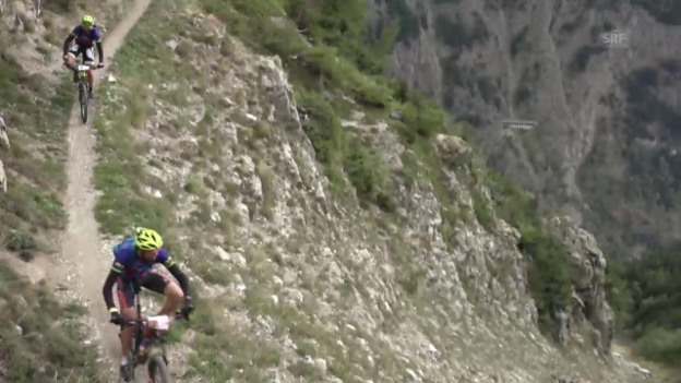 Video «Mountainbike: Impressionen des Swiss Epic 2015» abspielen