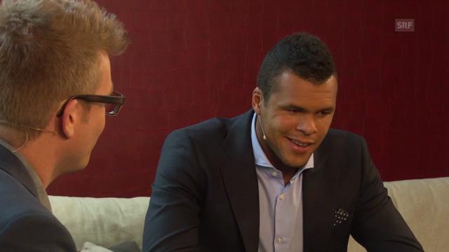 Gespräch mit Jo-Wilfried Tsonga («sportlounge»)
