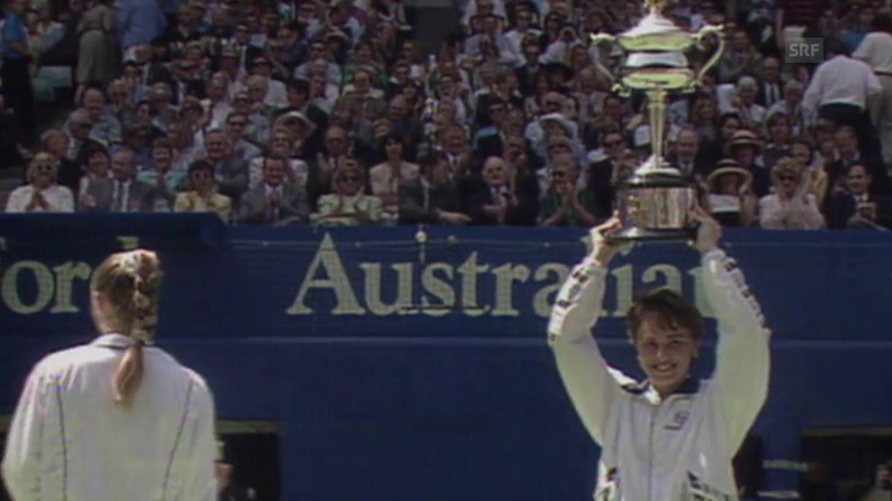 Die Erfolge von Hingis an den Australian Open