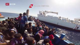 Video «FOKUS: Druck auf die Alpenroute» abspielen