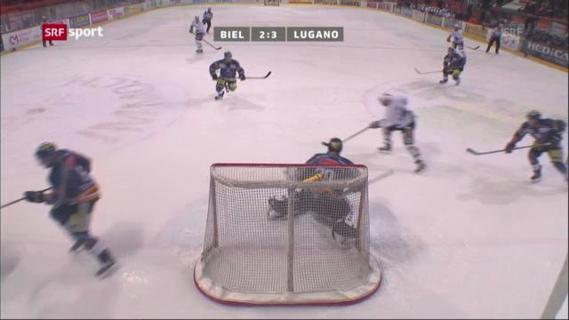 Eishockey: Biel - Lugano