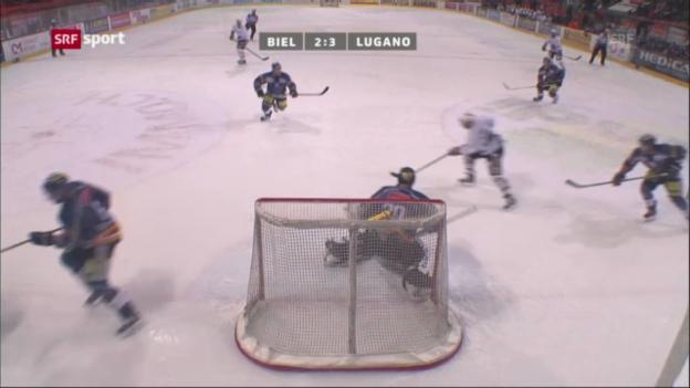 Video «Eishockey: Biel - Lugano» abspielen