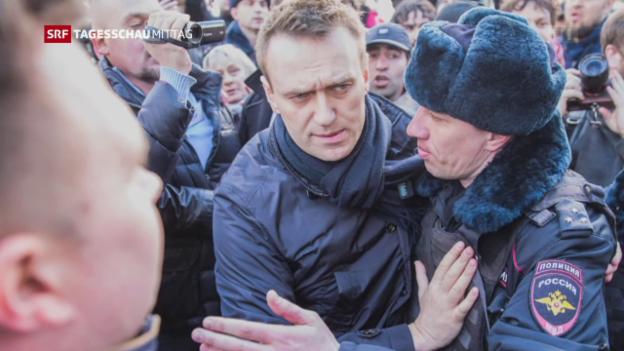 Video «Proteste in Russland» abspielen