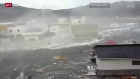 Video «Vor dem Jahrestag der Tsunami-Katastrophe in Japan» abspielen