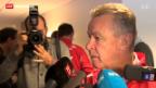 Video «Schweizer Fussball-Nationalmannschaft mit neuer Verteidigung» abspielen