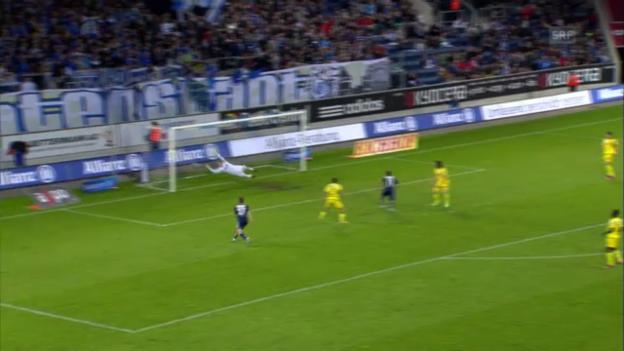 Video «Fussball: Luzern - YB» abspielen