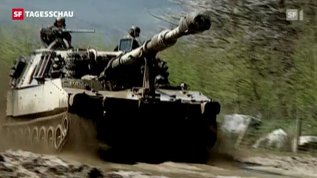 Mehr Kriegsmaterial exportiert