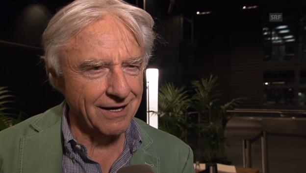 Video «Emil Steinberger über das Älterwerden als Künstler» abspielen