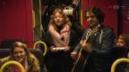 Video «Anna Rossinellis Challenge – singende Pendler» abspielen