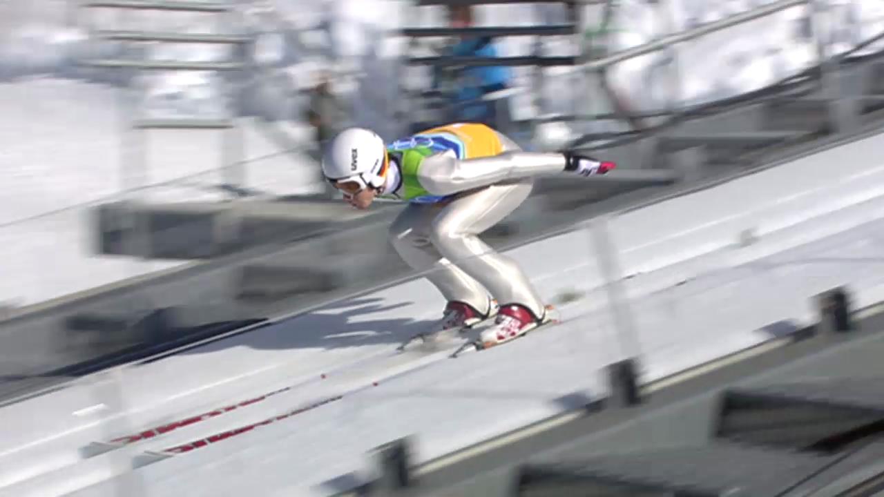 Skispringen: Schmitt im Teamwettkampf an den Olympischen Spielen 2010
