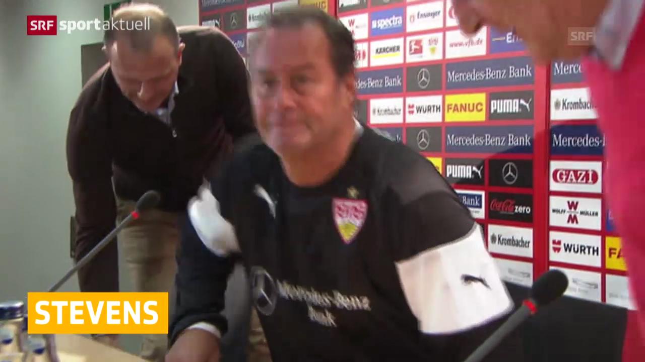 Fussball: Huub Stevens zurück in Stuttgart
