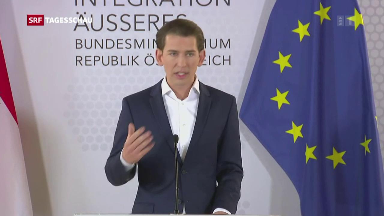 Österreichischer Aussenminister fordert vorgezogene Neuwahlen