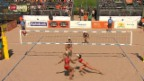Video «Beachvolleyball: World Tour Den Haag, Frauen» abspielen