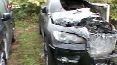 Video «Brandstiftung bei Luxusautos» abspielen