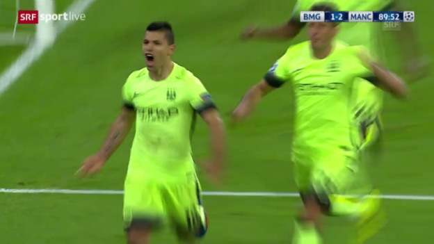 Video «Fussball: CL, Gladbach - City» abspielen