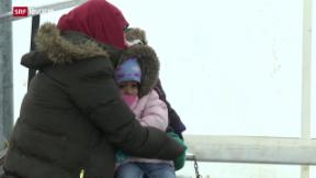 Video «Anhaltende Flüchtlingskrise» abspielen
