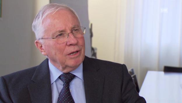Video «Blocher: Konflikt zwischen Elite und Volk» abspielen
