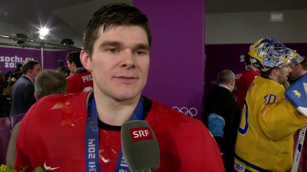 Sotschi: Eishockey, Final, Stimmen nach Kanada - Schweden
