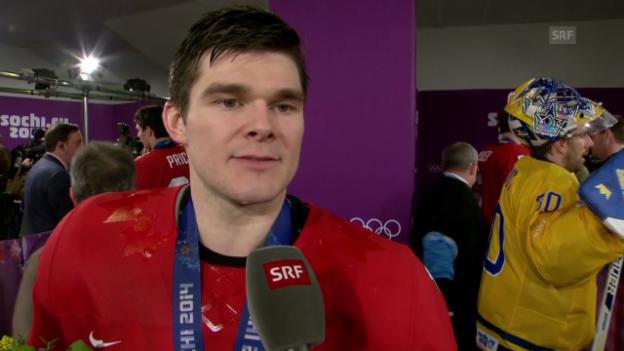 Video «Sotschi: Eishockey, Final, Stimmen nach Kanada - Schweden» abspielen