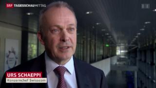 Video «Gewinnrückgang bei Swisscom» abspielen