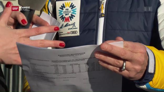 Video «St. Moritz hofft auf Sion» abspielen