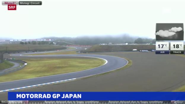 Video «Motorrad: Kein Training in Japan («sportaktuell»)» abspielen