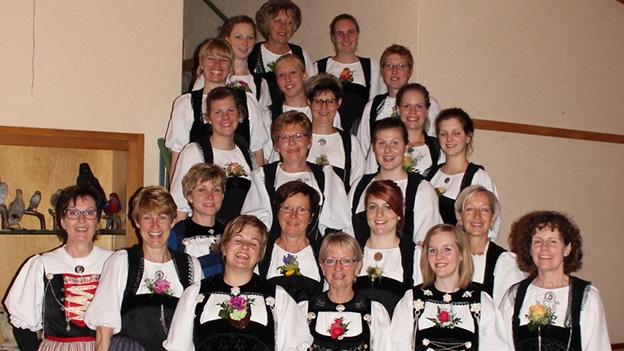 Jodlergruppe Grotteflueh mit «Herbschtwald»