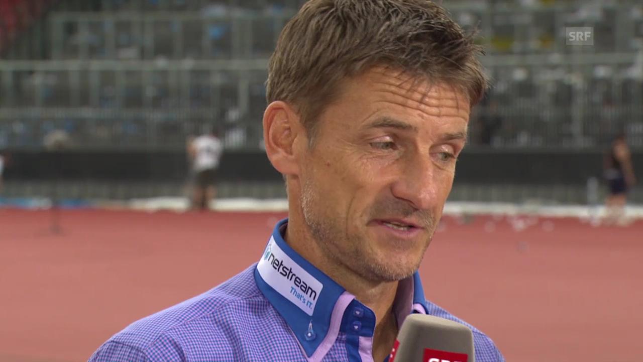 Spielanlayse mit FCZ-Trainer Urs Meier