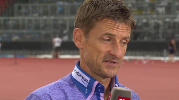 Video «Spielanlayse mit FCZ-Trainer Urs Meier» abspielen