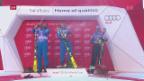 Video «Norwegischer Doppelsieg beim Super-G in Val d'Isère» abspielen