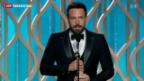 """Video «Golden Globes: Siegeszug von """"Lincoln"""" gestoppt» abspielen"""