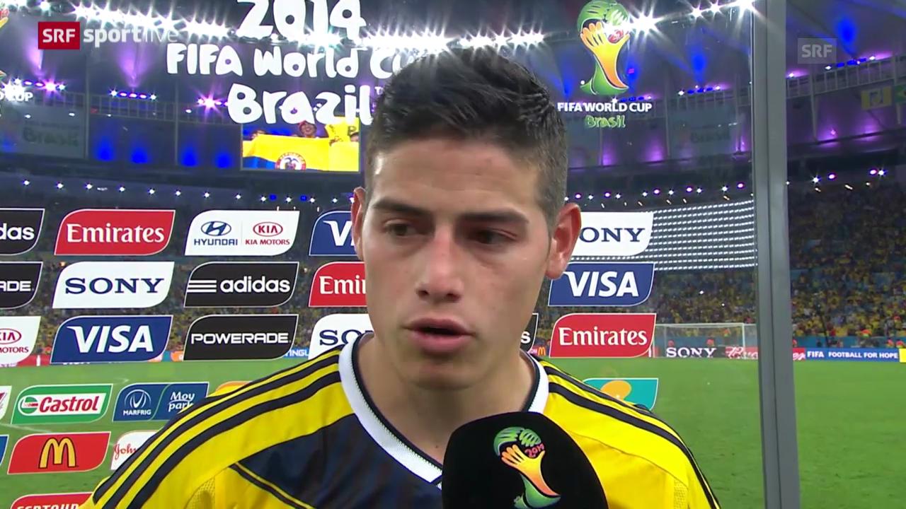 FIFA WM 2014: Interview mit Kolumbiens James Rodriguez