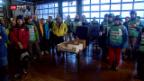 Video «Lauberhorn-Rennen – 600 Ehrenamtliche helfen mit» abspielen