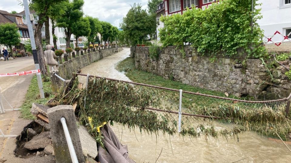 Schaffhauser Gemeinden erhalten vom Kanton Geld für den Hochwasserschutz