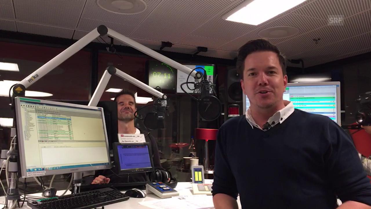 Radio SRF 1-Livestream: 7:10 bis 7:55 Uhr