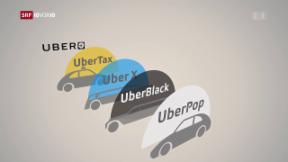 Video «Teilweises Ende für Uber in Zürich» abspielen