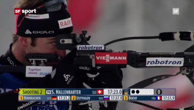Biathlon: 10-km-Sprint der Männer in Hochfilzen («sportaktuell»)