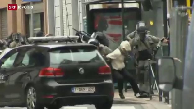 Video «Salah Abdeslam in Brüssel gefasst» abspielen